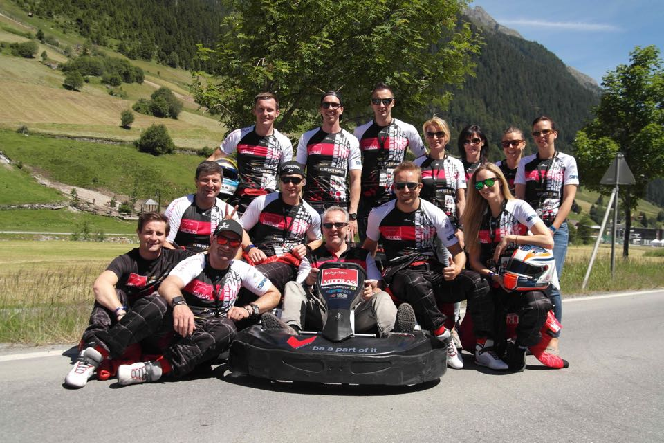 MITRAS RACING zu Gast in ISCHGL