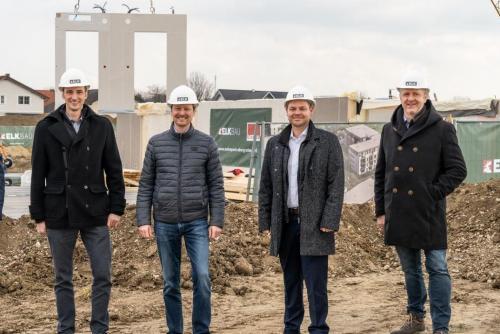 Baubeginn Wohnpark Ober-Grafendorf